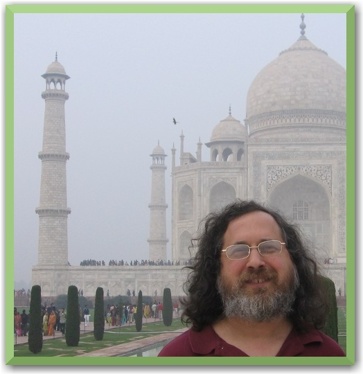 Richard Stallman in India