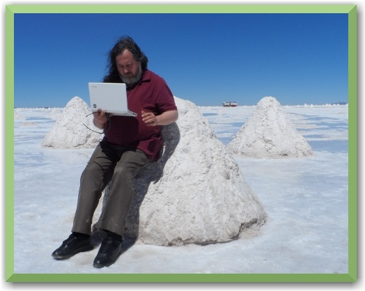 Richard Stallman in nature